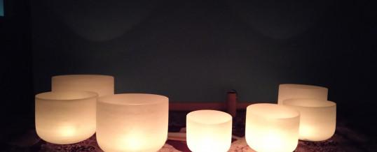 18 ottobre Meditazione con campane di cristallo